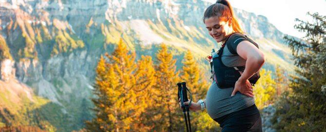 La montagna in gravidanza non è per tutte